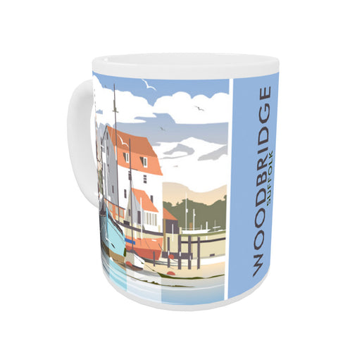 Woodbridge, Suffolk Coloured Insert Mug