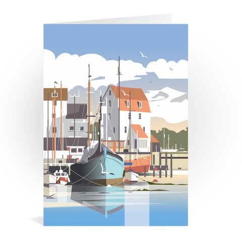 Woodbridge, Suffolk Greeting Card 7x5