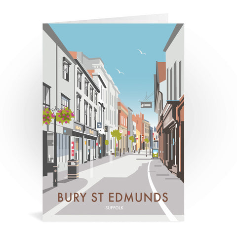 Bury St Edmunds, Suffolk Greeting Card 7x5