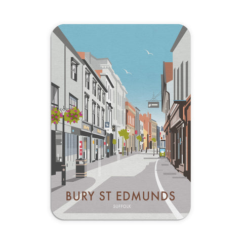 Bury St Edmunds, Suffolk Mouse Mat