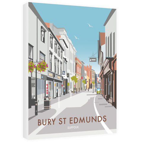 Bury St Edmunds, Suffolk 40cm x 60cm Canvas