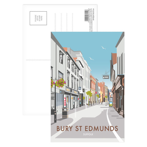 Bury St Edmunds, Suffolk Postcard Pack