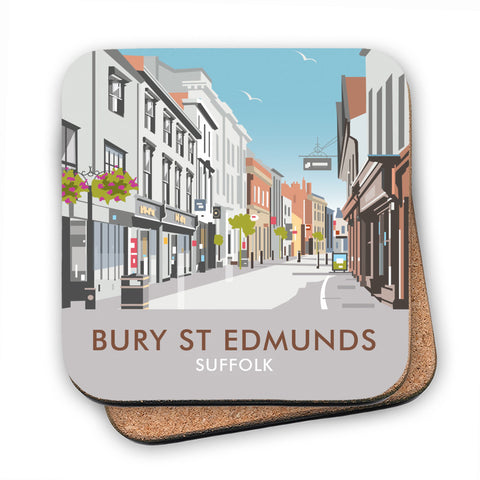 Bury St Edmunds, Suffolk MDF Coaster