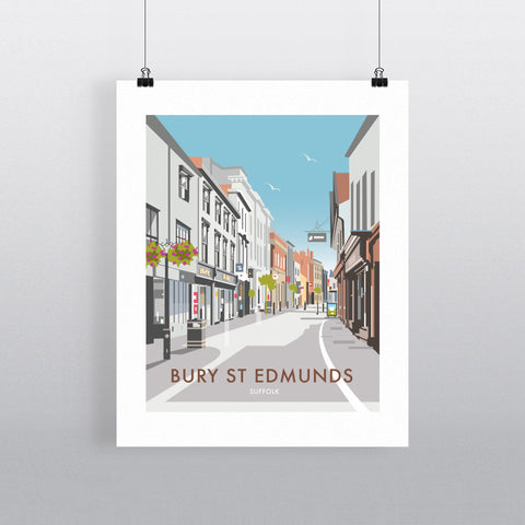 Bury St Edmunds, Suffolk 90x120cm Fine Art Print