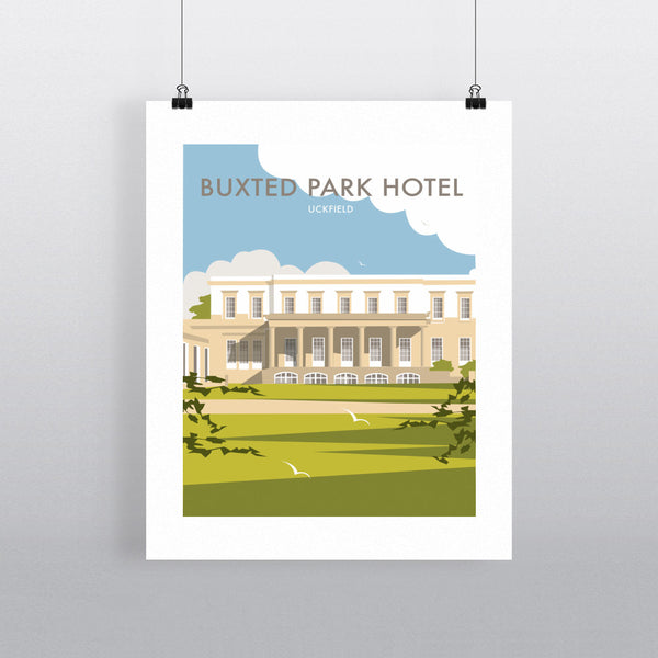 Buxted Park Hotel, Uckfield 11x14 Print