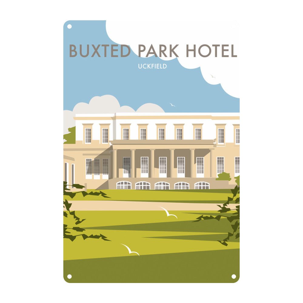 Buxted Park Hotel, Uckfield Metal Sign