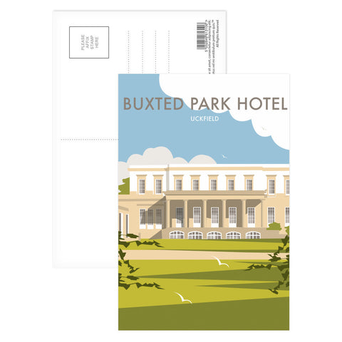 Buxted Park Hotel, Uckfield Postcard Pack