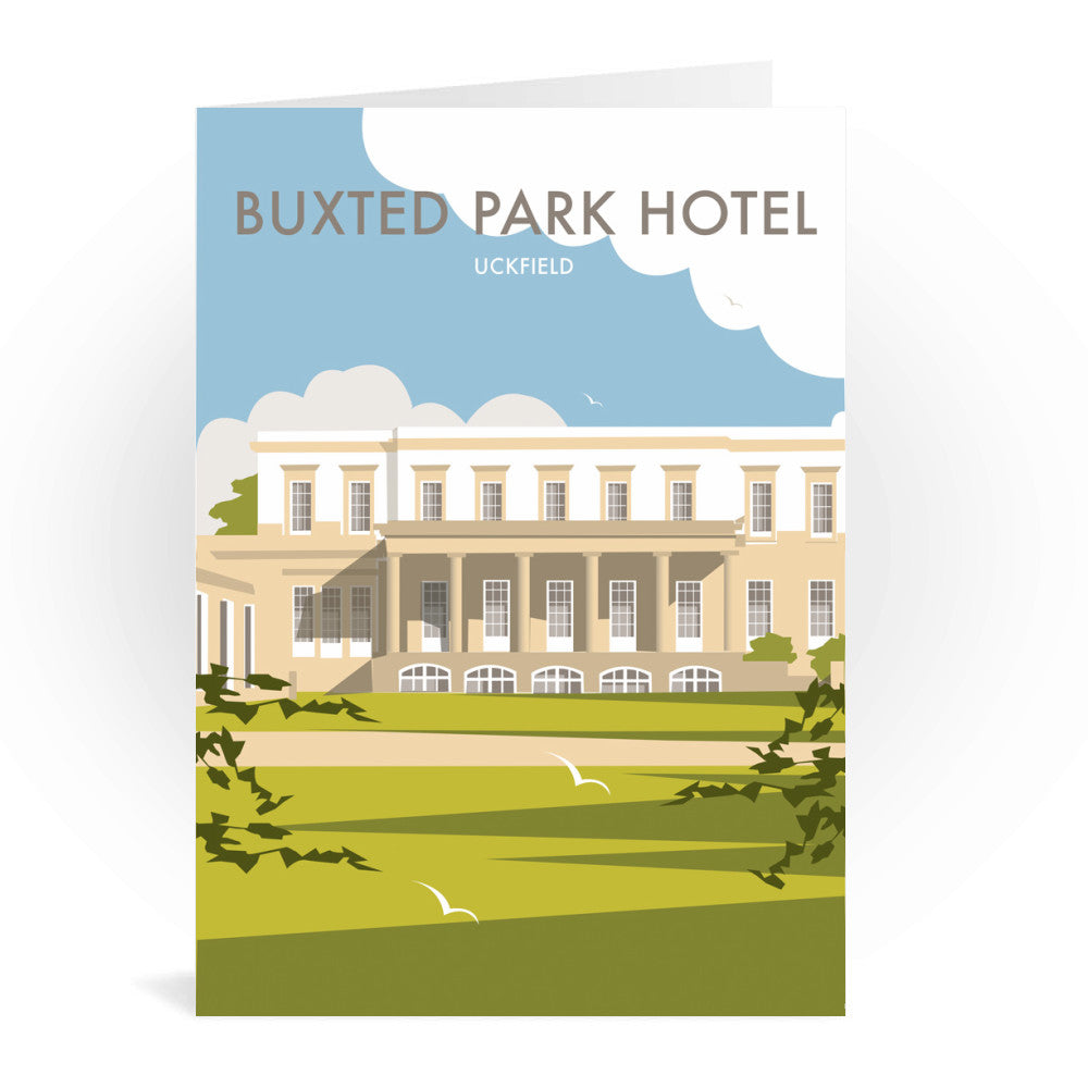 Buxted Park Hotel, Uckfield Greeting Card 7x5