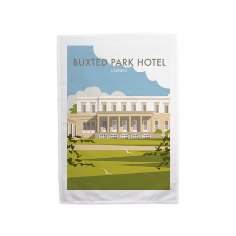 Buxted Park Hotel, Uckfield Tea Towel