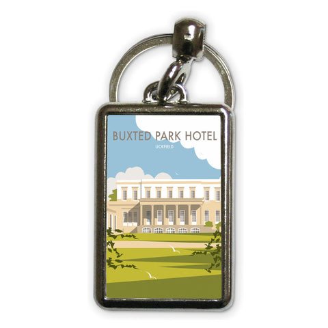 Buxted Park Hotel, Uckfield Metal Keyring