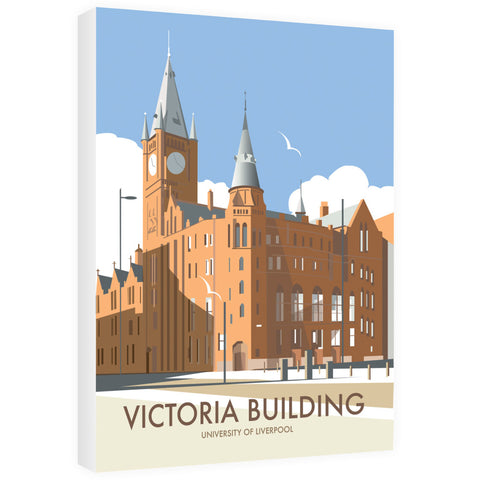 Victoria Building, University Of Liverpool 40cm x 60cm Canvas