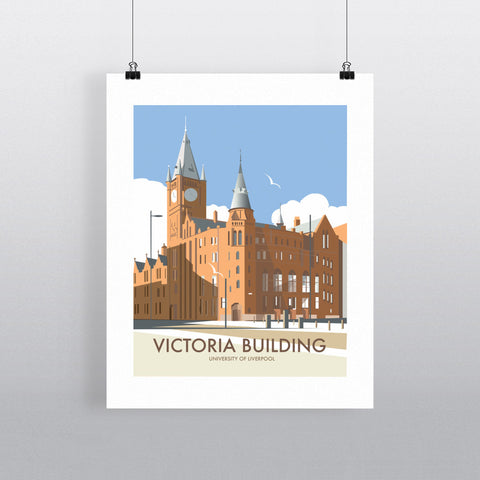 Victoria Building, University Of Liverpool 90x120cm Fine Art Print