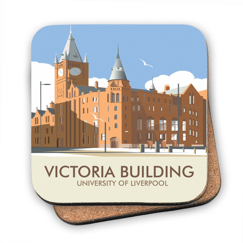 Victoria Building, University Of Liverpool MDF Coaster
