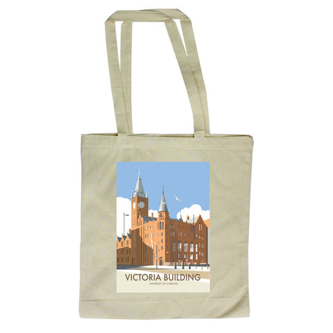 Victoria Building, University Of Liverpool Canvas Tote Bag