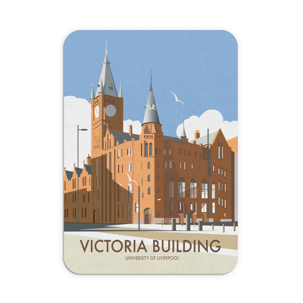 Victoria Building, University Of Liverpool Mouse Mat