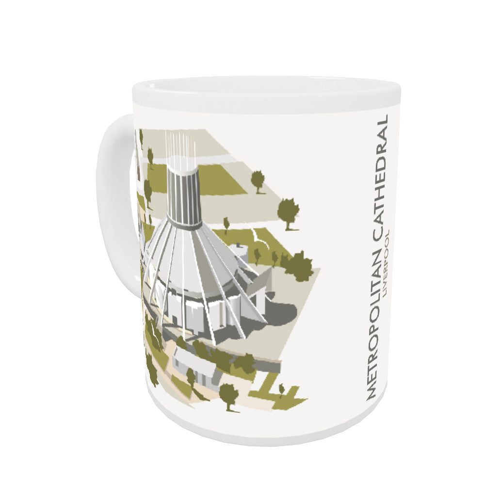 Metropolitan Cathedral, Liverpool Coloured Insert Mug