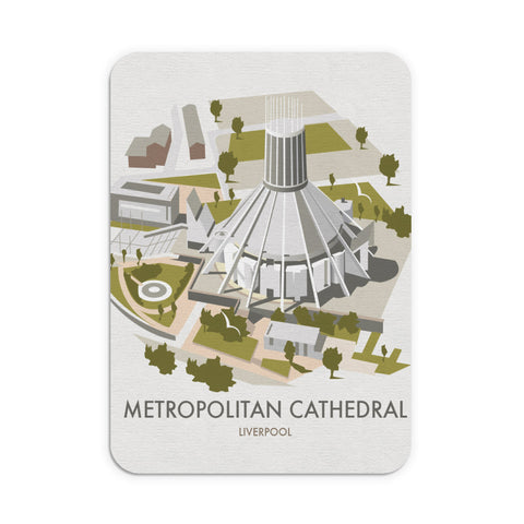 Metropolitan Cathedral, Liverpool Mouse Mat