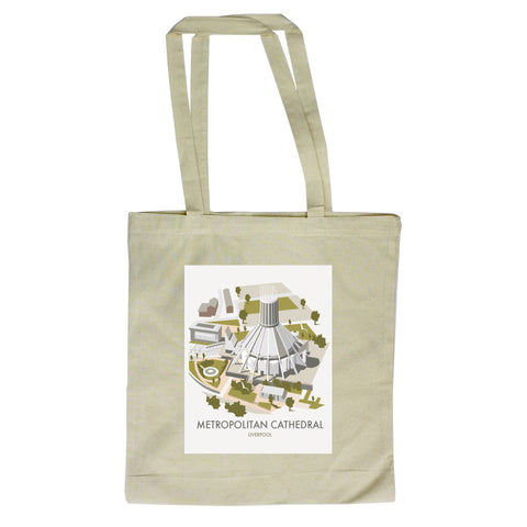 Metropolitan Cathedral, Liverpool Canvas Tote Bag