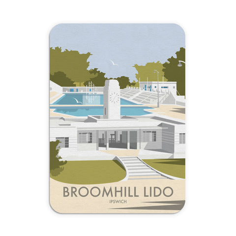 Broomhill Lido, Ipswich Mouse Mat