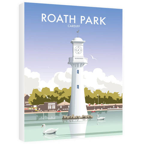 Roath Park, Cardiff 40cm x 60cm Canvas