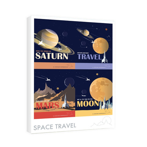 Space Travel - Canvas