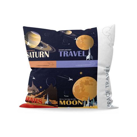 Space Travel - Fibre Filled Cushion