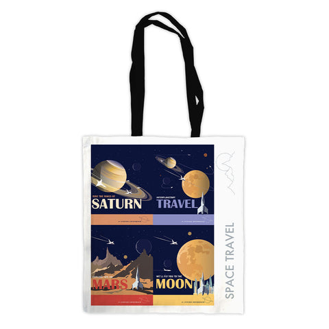 Space Travel - Premium Tote Bag