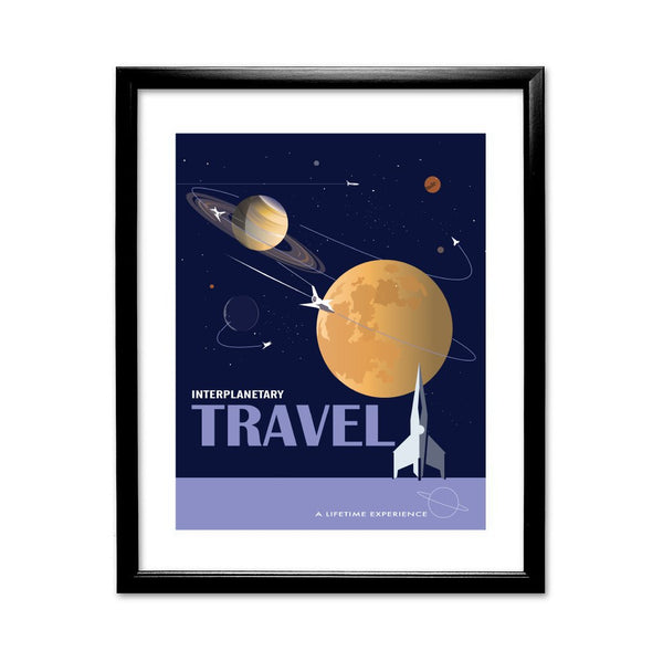 Interplanetary - Framed Print