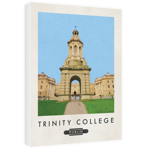 Trinity College, Dublin, Ireland 60cm x 80cm Canvas