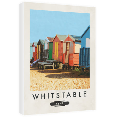 Whitstable, Kent 60cm x 80cm Canvas