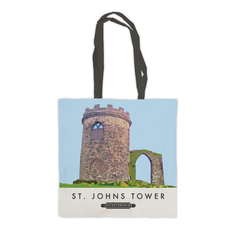 St Johns Tower, Leicestershire Premium Tote Bag