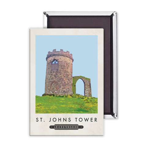 St Johns Tower, Leicestershire Magnet