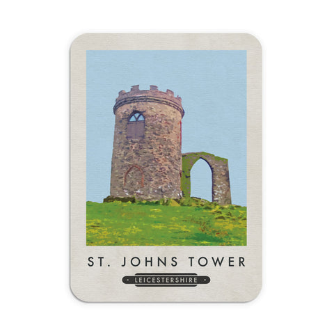 St Johns Tower, Leicestershire Mouse Mat