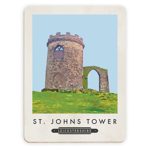 St Johns Tower, Leicestershire Placemat