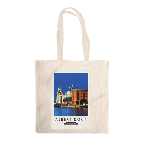 Albert Dock, Liverpool Canvas Tote Bag