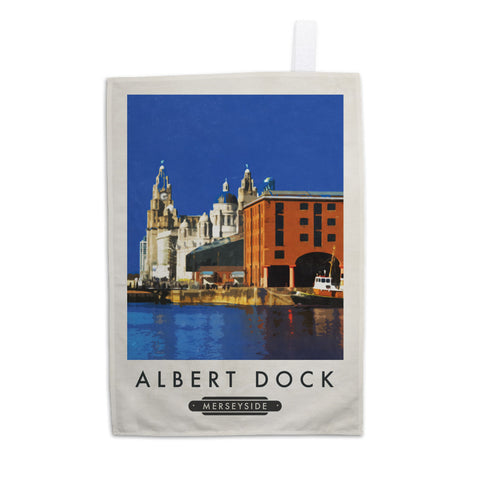 Albert Dock, Liverpool Tea Towel