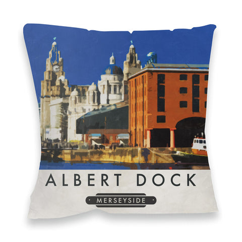 Albert Dock, Liverpool Fibre Filled Cushion