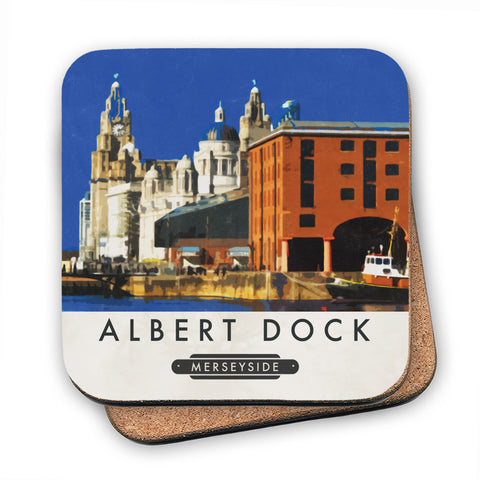 Albert Dock, Liverpool MDF Coaster