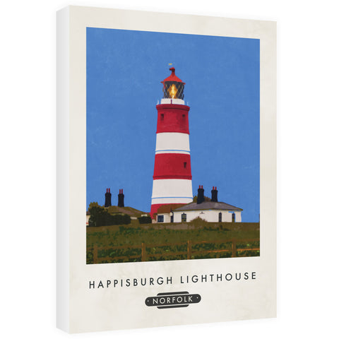 Happisburgh Lighthouse, Norfolk 60cm x 80cm Canvas