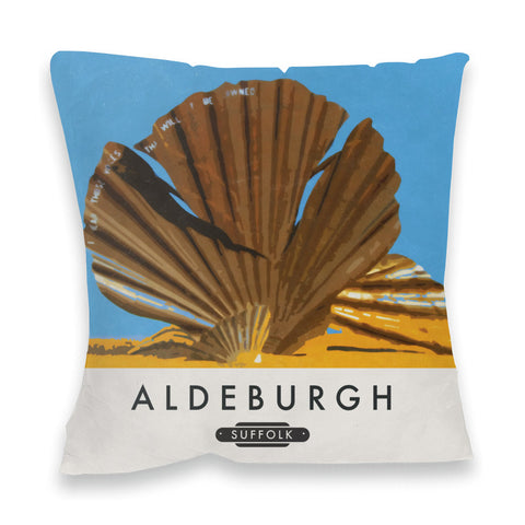 Aldeburgh, Suffolk Fibre Filled Cushion