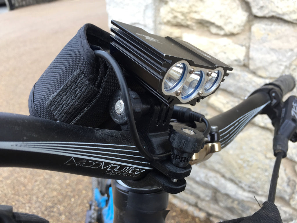 Handle Bar Light and Battery Clamp