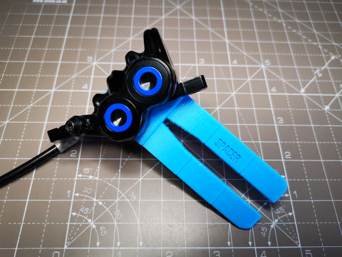 Bleed Block and Spacer Tool for Magura MT5s