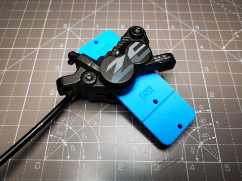 Bleed Block and Spacer Tool for Shimano Zee Brakes
