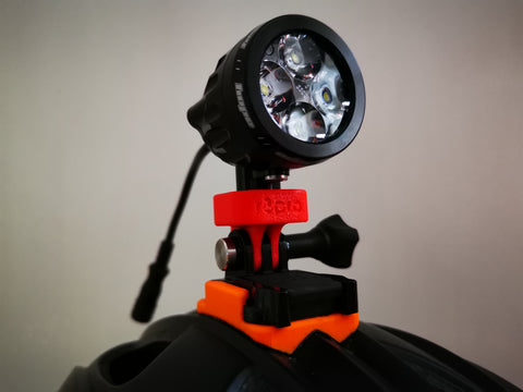 GoPro Style Mount for Hope Lights V1