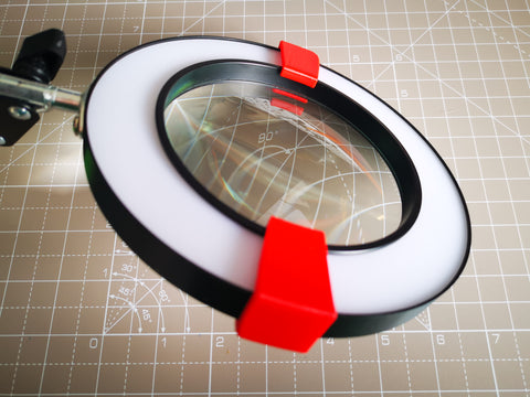 Magnifier Glass Clamp