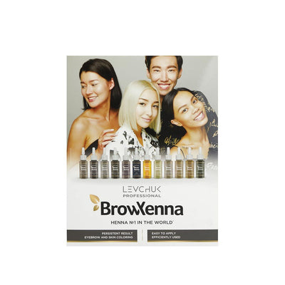 BROW XENNA COLOUR CHART