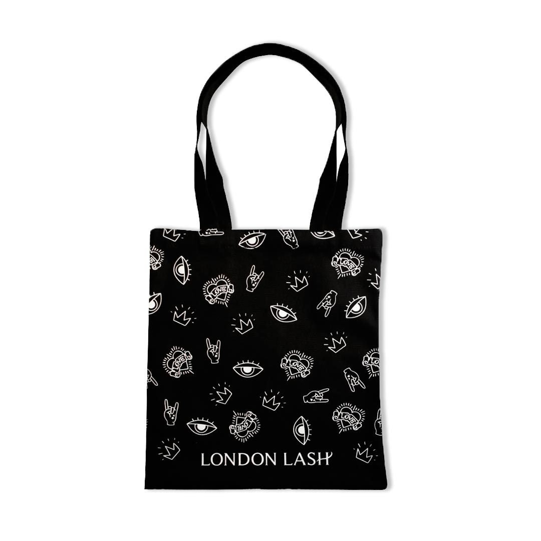 London Lash Reusable Canvas Bag