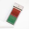 0.07 MIXED SIZE RED BROWN/GREEN LASHES MAYFAIR MINK B/C/CC/D
