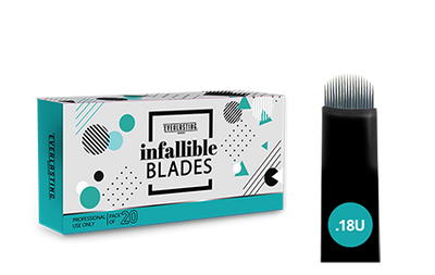 U-shape Box of 20 0.18 needle blades