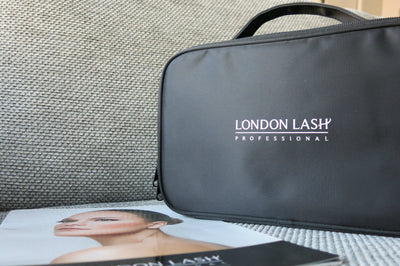 london lash cosmetic case for mobile lash artists